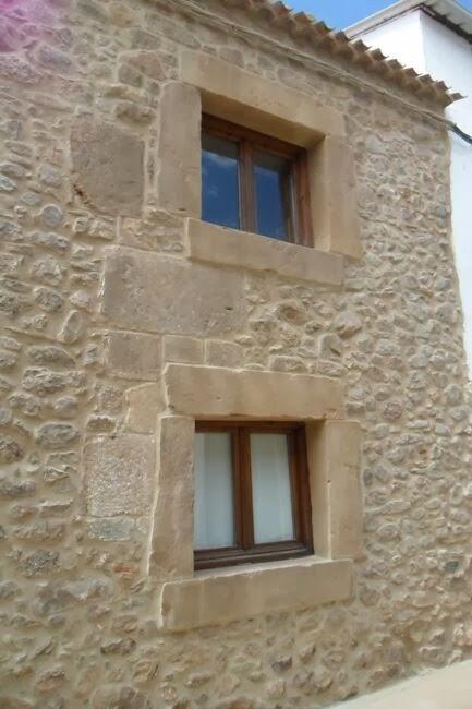 revestimiento rustico en fachadas