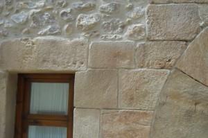 tematizacion mortero con arcos y piedra sillar