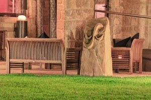 Esculturas de mortero tallado a mano