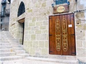 reconstruccion fachadas en valderrobres teruel