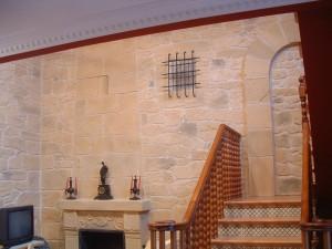 chimeneas de simil piedra