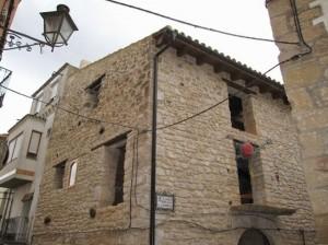 Restauración de diferentes parte de la fachada con mortero