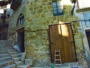 edificio sin restaurar en valderrobres