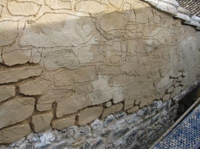 Rehabilitaci n en fachadas con mortero tem tico estecha - Piedra artificial para fachadas ...