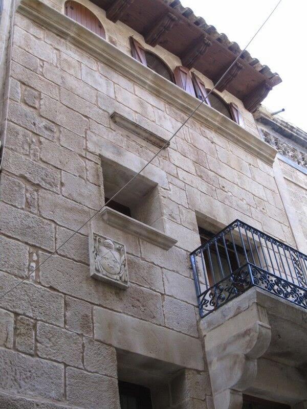 revestimiento rustico en fachada patrimonio historico