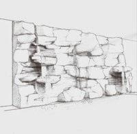 proyecto decorativo de rocas con mortero