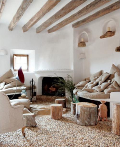 decoracion de interiores rusticos blanco : decoracion de interiores rusticos blanco:Decoración para interiores con yeso rústico
