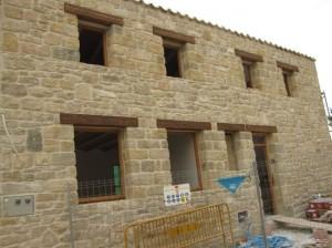 reconstrucción de fachadas con mortero