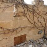 muro para jardines con mortero tixotropico