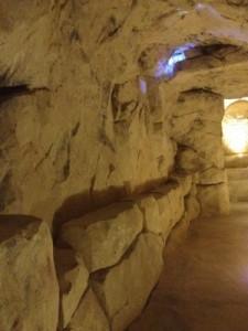 bodega imitación de una cueva
