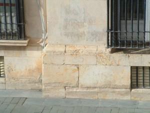 fachada de piedra natural reconstruir con mortero