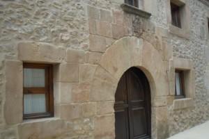 Reproducción de piedra en fachada vivienda particular