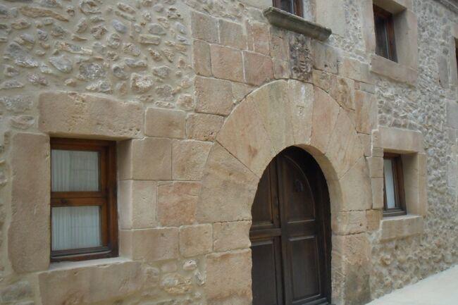 reproduccin de piedra en fachada vivienda particular