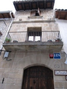 Casa situada en el casco antiguo de Valderrobres Teruel