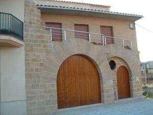 Fachadas de piedra y ladrillo rustico arena piedrin y otros materiales with fachadas de piedra - Arcos de ladrillo rustico ...