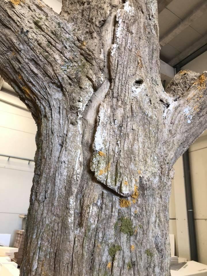 Tronco imitación madera