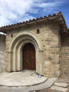 Revestimiento de fachada con mortero tixo