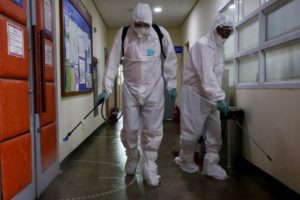 Desinfección con Biofilstop Cleaner